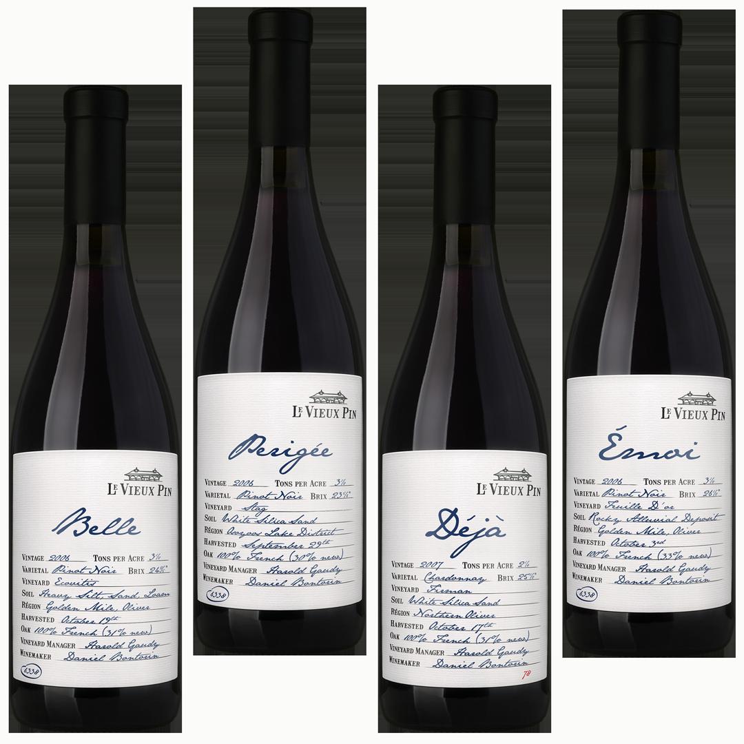 Brandolier Wine Bottles Le Vieux Pin Beverage Alcohol